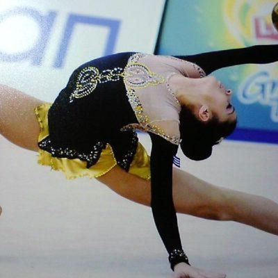 Η Μιχαέλα Μεταλλίδου, πρωταθλήτρια της Εθνικής Ομάδας Ρυθμικής Γυμναστικής.