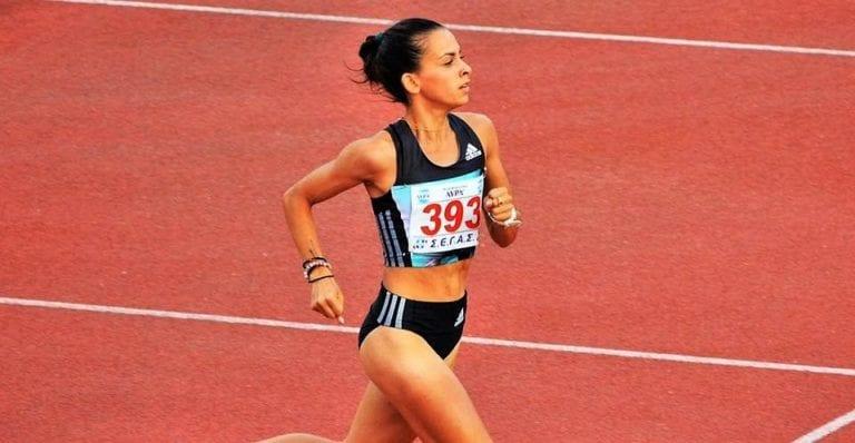 Αναστασία Μαρινάκου, πρωταθλήτρια κλειστού και ανοιχτού στίβου στα 800μ.,1500μ. και 3000μ.