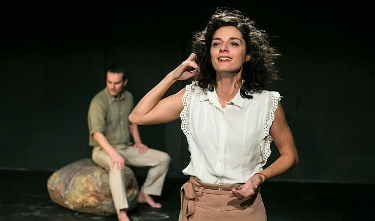 """Είδαμε την παράσταση """"Ο ξένος"""" του Αλμπέρ Καμύ."""