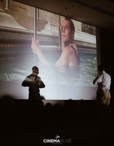 Φωτογραφία από την διαδραστική παράσταση