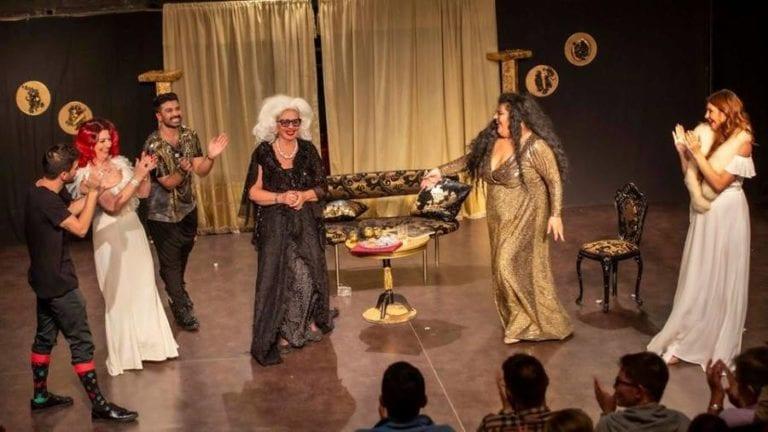 """Είδαμε την παράσταση """"Δείπνο Βασιλισσών"""" στο θέατρο ΠΚ."""
