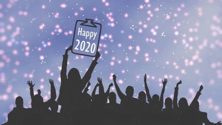 Ας είναι το 2020 η αφετηρία μιας δημιουργικής εποχής με υγεία και πολλά χαμόγελα…