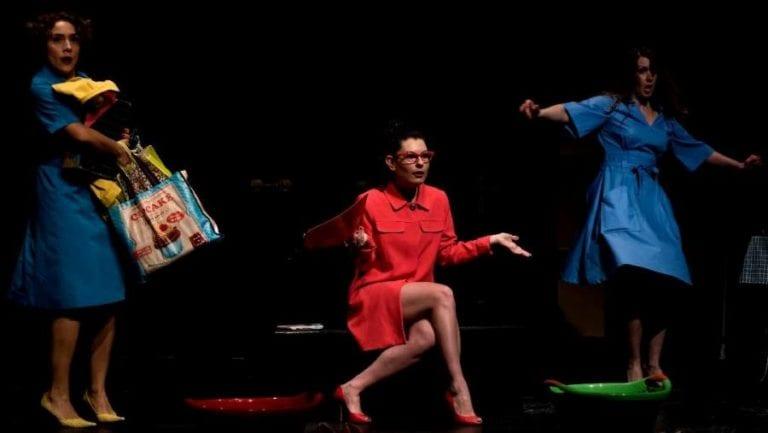 """Super Woman"" από την ομάδα Plan BEE στο Faust."